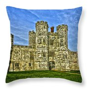 Titchfield Abbey Hdr Throw Pillow
