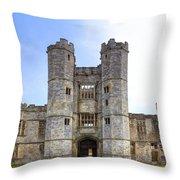 Titchfield Abbey Throw Pillow