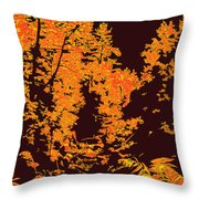 Titian Woodland Throw Pillow