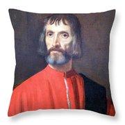 Titian's Andrea Dei Franceschi Throw Pillow