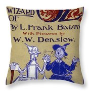 Title Page: First Edition Throw Pillow