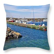 Tiverton On Digby Neck-ns Throw Pillow