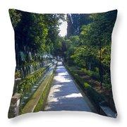 Tivoli Gardens Throw Pillow
