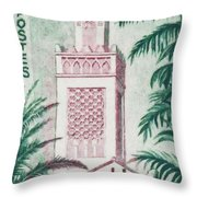 Tlemcen Great Mosque Throw Pillow