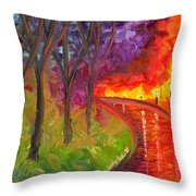 To Be Continued Throw Pillow