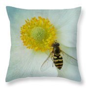 To Bee Us  Throw Pillow