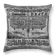 'to Counterfeit Is Death Throw Pillow
