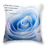 To Every Thing There Is A Season Throw Pillow