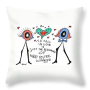 To Fall In Love Throw Pillow