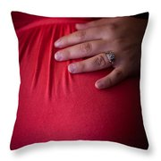To Give A New Life Throw Pillow