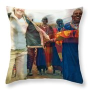 To Hold Hands Throw Pillow