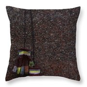 To Keep Your Hands Warm Throw Pillow