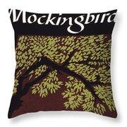 To Kill A Mockingbird, 1960 Throw Pillow