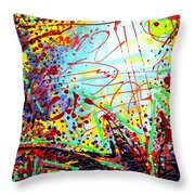 To Make Visible The Invisible II Throw Pillow