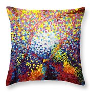 To Make Visible The Invisible Viii Throw Pillow