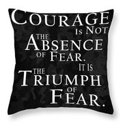 To My Son Throw Pillow by Mark Rogan