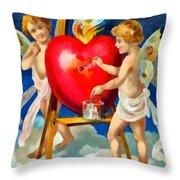 To My Valentine Throw Pillow