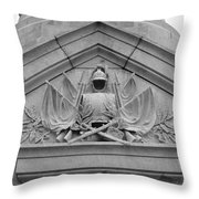 To Protect Throw Pillow by Teresa Mucha