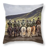 To Ride The Paths Of Legions Unknown Throw Pillow