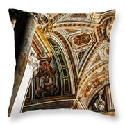 To See Heaven Throw Pillow
