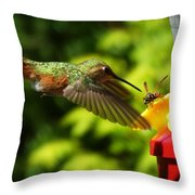 To Share Or Not To Share Throw Pillow