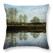 To Stand And Stare - West Coast Art By Jordan Blackstone Throw Pillow