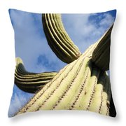 To The Clouds Throw Pillow