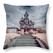 To The Mansion Throw Pillow