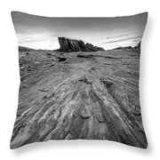 To The Rock Throw Pillow