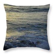 To The Seas Throw Pillow