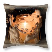 To The Top Of The Porch To The Top Of The Wall  Now Dash Away Dash Away Dash Away All Throw Pillow
