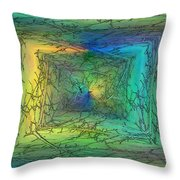 To The Treetops Throw Pillow