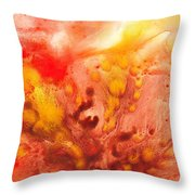 To The Unknown Abstract Path Number Three Throw Pillow