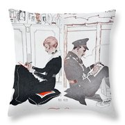 To You Throw Pillow by English School