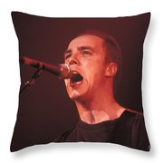 Toad The Wet Sprocket - Glen Phillips Throw Pillow
