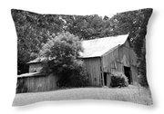 barn in Kentucky no 10 Throw Pillow