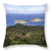Tobago Rainforest Throw Pillow