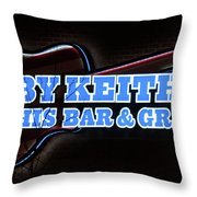 Toby Keith's Throw Pillow