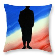Today's Soldier Throw Pillow
