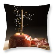 Toffee Apple Throw Pillow