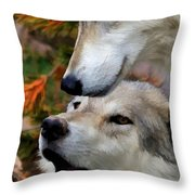 Together At Last II Throw Pillow
