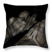 Together For Eternity Throw Pillow by Daniel Hagerman