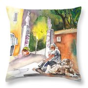 Together Old  In Italy 04 Throw Pillow