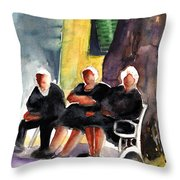 Together Old  In Italy 06 Throw Pillow