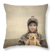 Together They Dream Into The Evening Throw Pillow