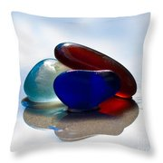 Together We Are Strong Throw Pillow by Barbara McMahon