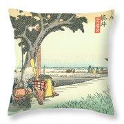 Tokaido - Fukuroi Throw Pillow