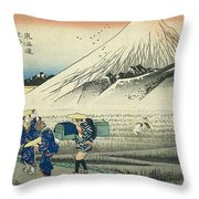 Tokaido - Hara Throw Pillow