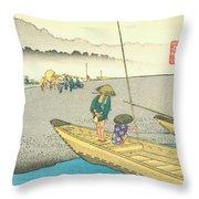 Tokaido - Mitsuke Throw Pillow
