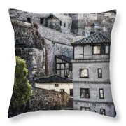 Toledo Hillside Throw Pillow